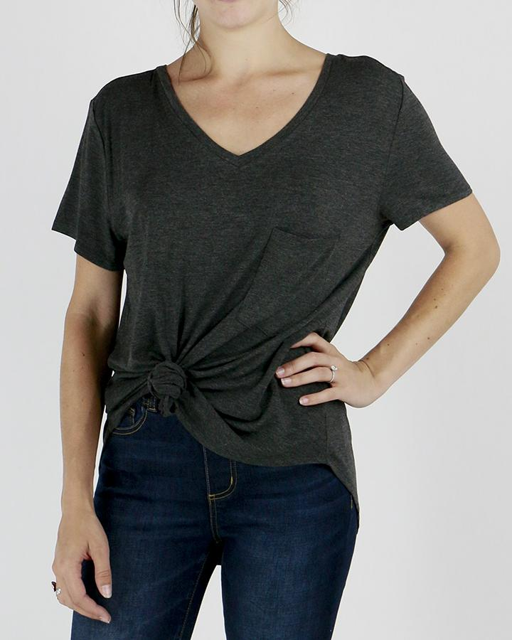 G&L Perfect Pocket Tee - Charcoal