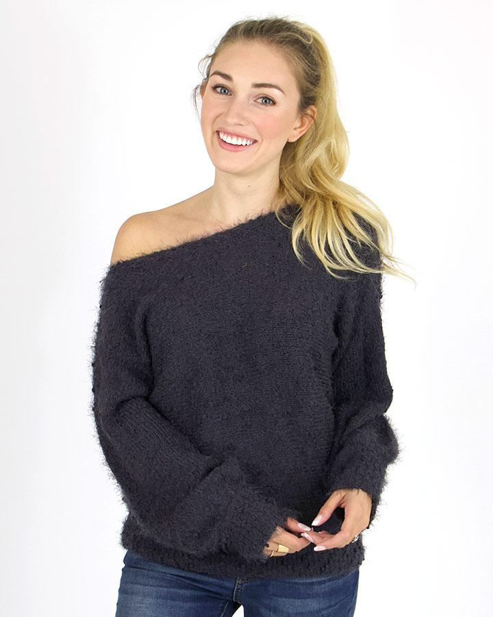 G&L Snuggle Up Sweater - Charcoal Grey
