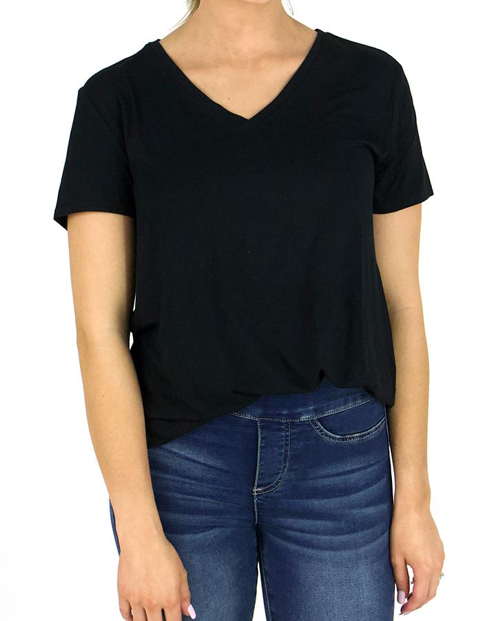 G&L Perfect V-Neck Tee - Black