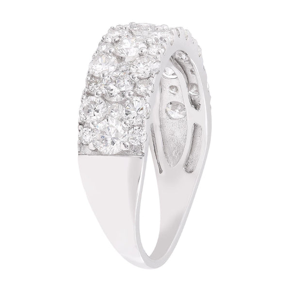 Ring with 2ct Diamonds in 9K White Gold