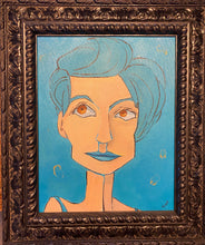 Load image into Gallery viewer, Imaginary Friends Portrait - Gretchen in Compose Blue
