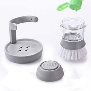 Soap Dispensing Palm Brush