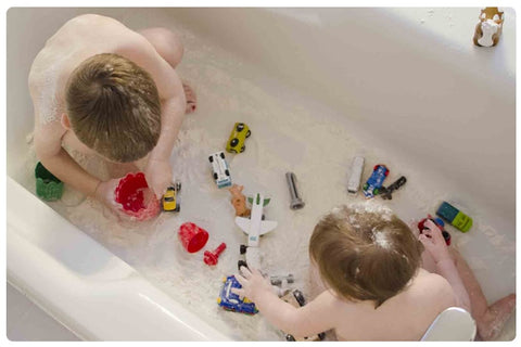 Bath Time with 2nd Child