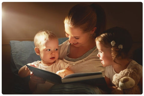 Telling Stories with 2nd Child