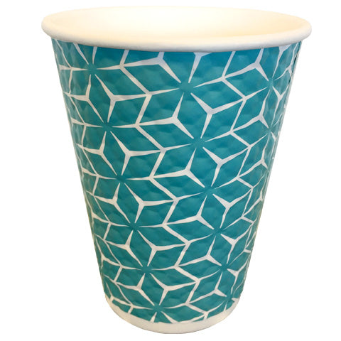 Blue Diamond Paper Cups