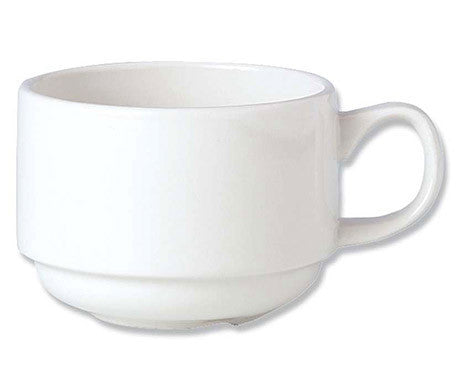 Simplicity White Atlanta Stacking Cup (36 per pack)