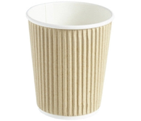 Brown Paper Ripple Cups