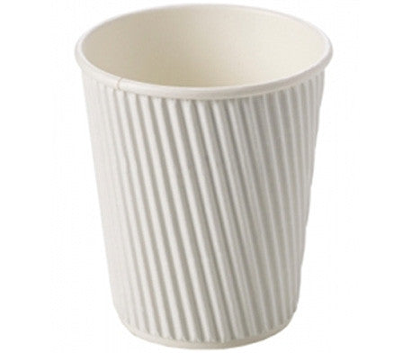 White Paper Ripple Cups