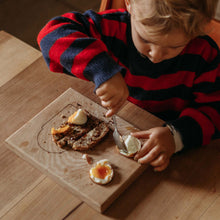 Load image into Gallery viewer, kids wooden breakfast board