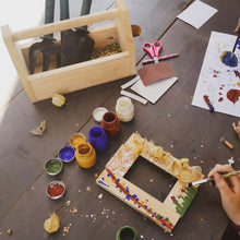 Load image into Gallery viewer, kids wooden craft kit