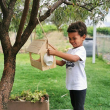 Load image into Gallery viewer, kids wooden bird feeder kit