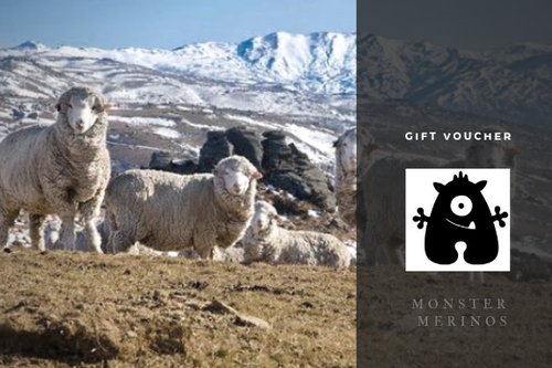 Gift Voucher from Monster Merinos