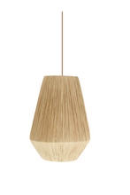 Load image into Gallery viewer, 'Riad' Raffia Light Pendant 2