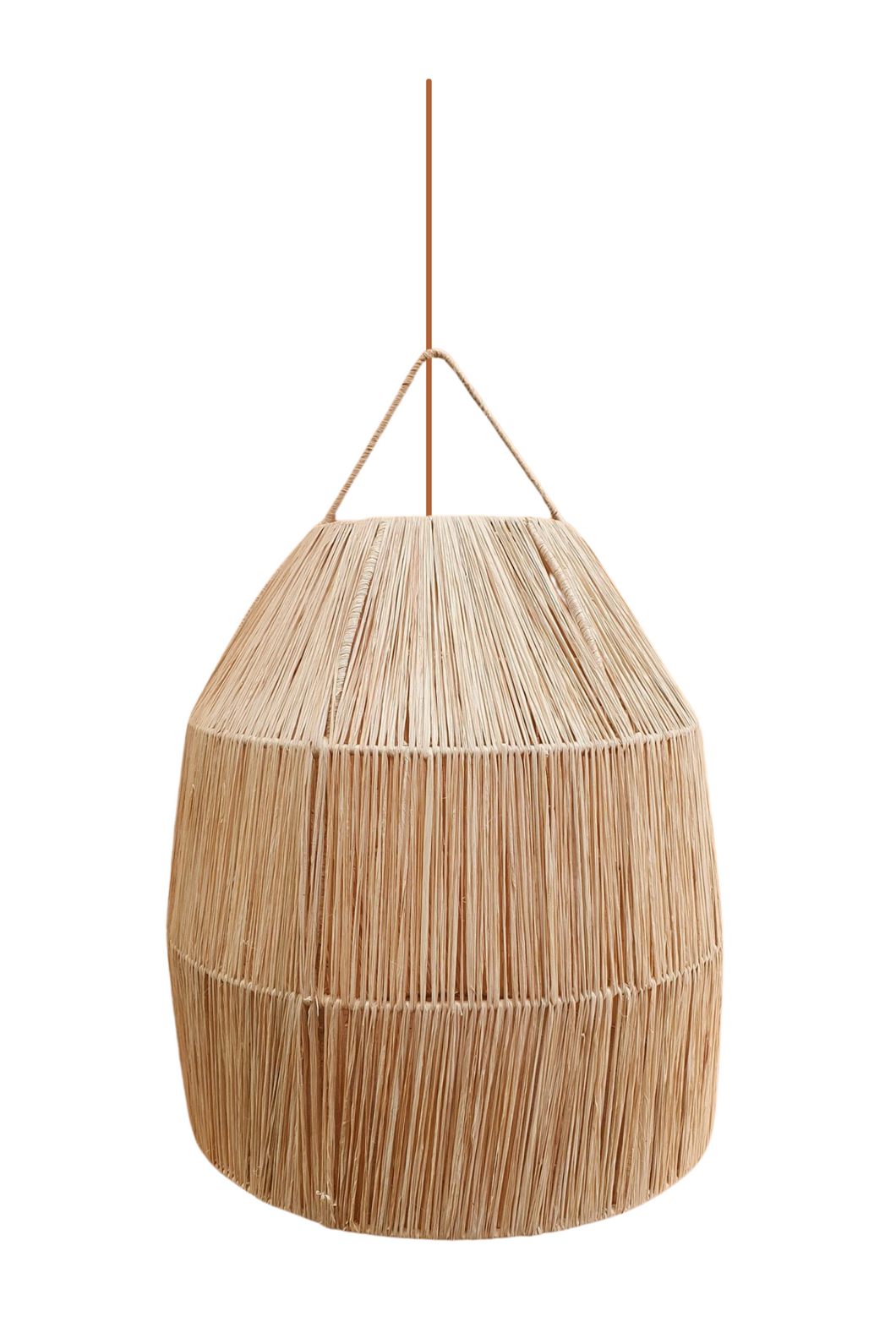 'Riad' Raffia Light Pendant 3