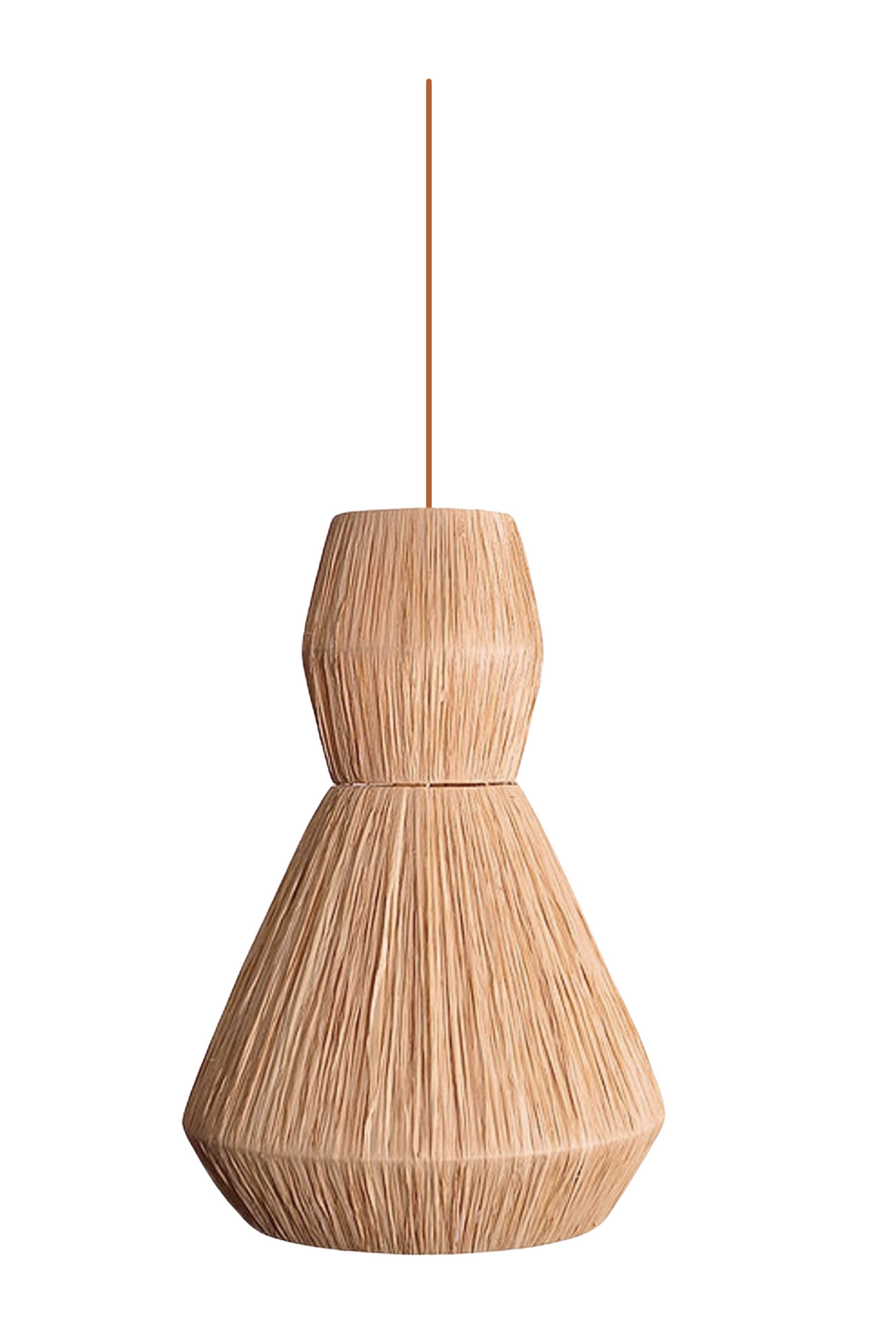 'Riad' Raffia Light Pendant 5