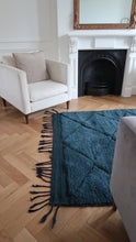 Load image into Gallery viewer, DEEP BLUE 'BENI OURAIN' RUG