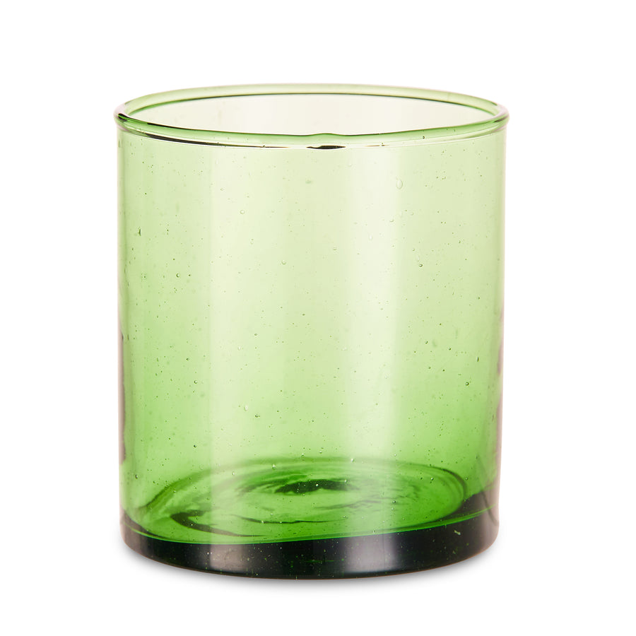 Green Fez Glass (set of 6)