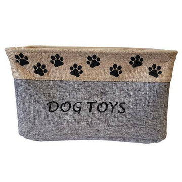 Dog Toy Fabric Storage Container