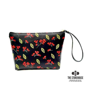 Nandina Berries Zipper Pouch