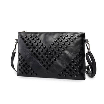 Studded Crossbody Clutch