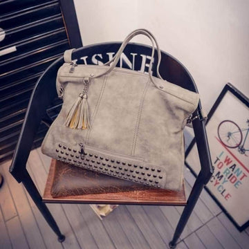 New York Studded Purse
