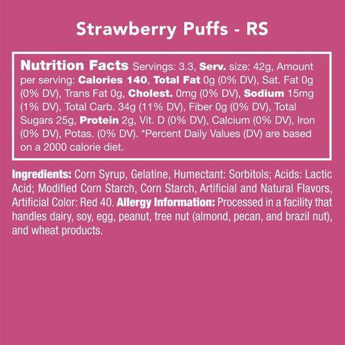 Strawberry Puffs (Gluten Free)