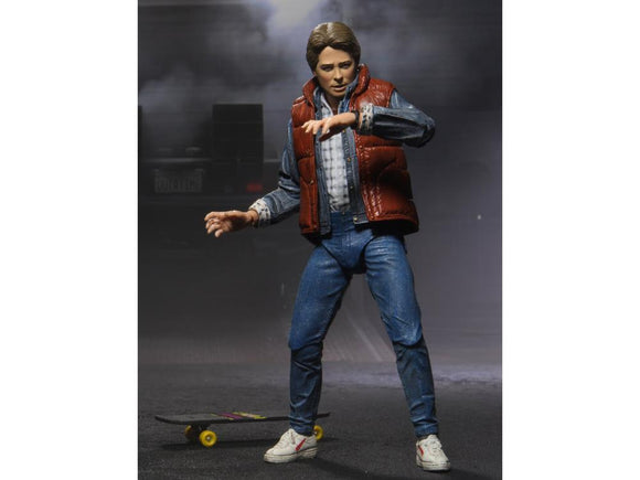 Marty McFly Back to the Future Neca Volver al Futuro