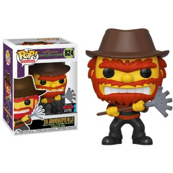 EVIL GROUNDSKEEPER WILLIE Funko Pop 824 FALL CONVENTION LIMITED EDITION