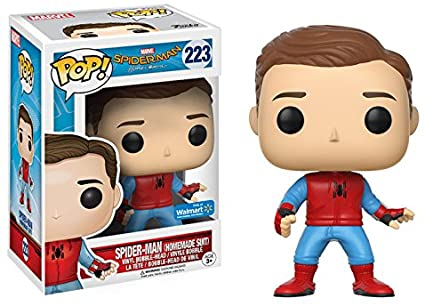 SPIDER MAN HOMEMADE SUIT FUNKO POP 223 SPIDER MAN HOMECOMING