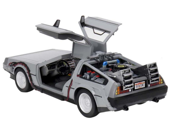 Delorean DMC12 Back to the Future Time Machine NECA