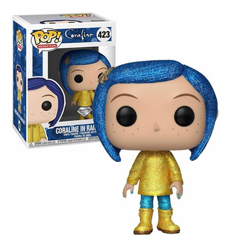 Coraline In Raincoat Diamond Special Edition Funko Pop 423