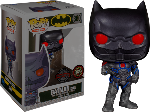 Batman Murder Machine Funko Pop 360 Glow Chase