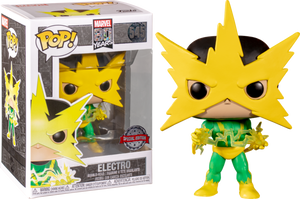 ELECTRO FUNKO POP 545 MARVEL 80 YEARS SPECIALTY SERIES