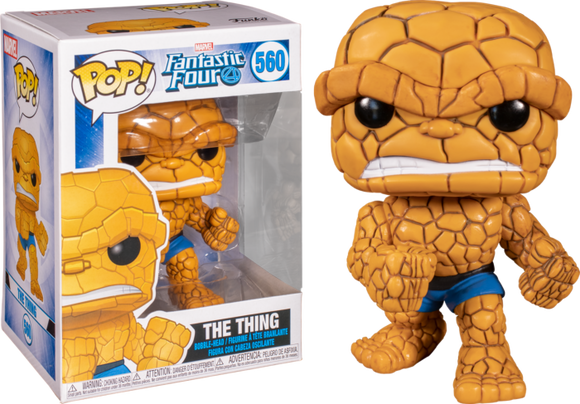 THE THING FUNKO POP 560 FANTASTIC FOUR 4