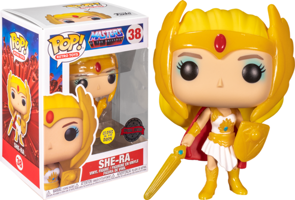 She Ra Specialty Series Glow in the Dark Funko Pop 38
