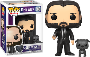 JOHN WICK WITH DOG FUNKO POP 580