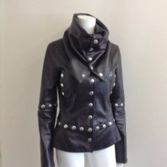 ISABEL MARANT - BLACK JACKET SIZE 42 fr UK 14