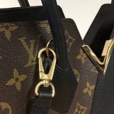 LOUIS VUITTON MONOGRAM & LEATHER KIMONO BAG PM
