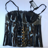 DOLCE & GABBANA PVS CORSET TOP SIZE 8 40 IT - new with tags Runway 2007