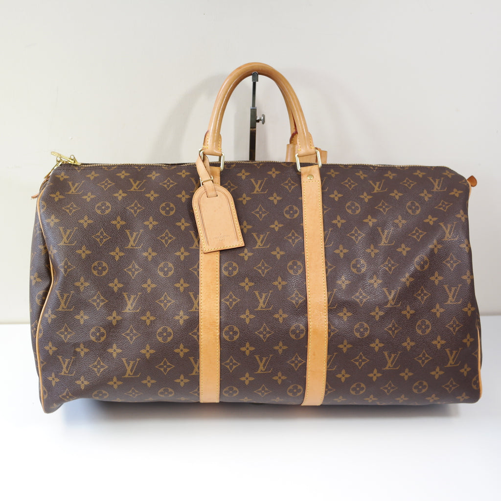 LOUIS VUITTON LARGE MONOGRAM TRAVEL BAG