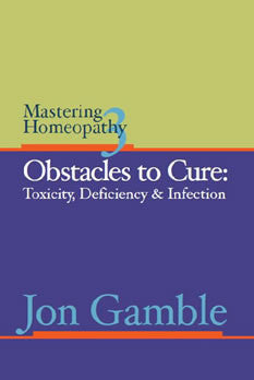 Mastering Homeopathy 3 - Obstacles to Cure: Toxicity, Deficiency and Infection cover