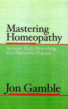 Mastering Homeopathy cover