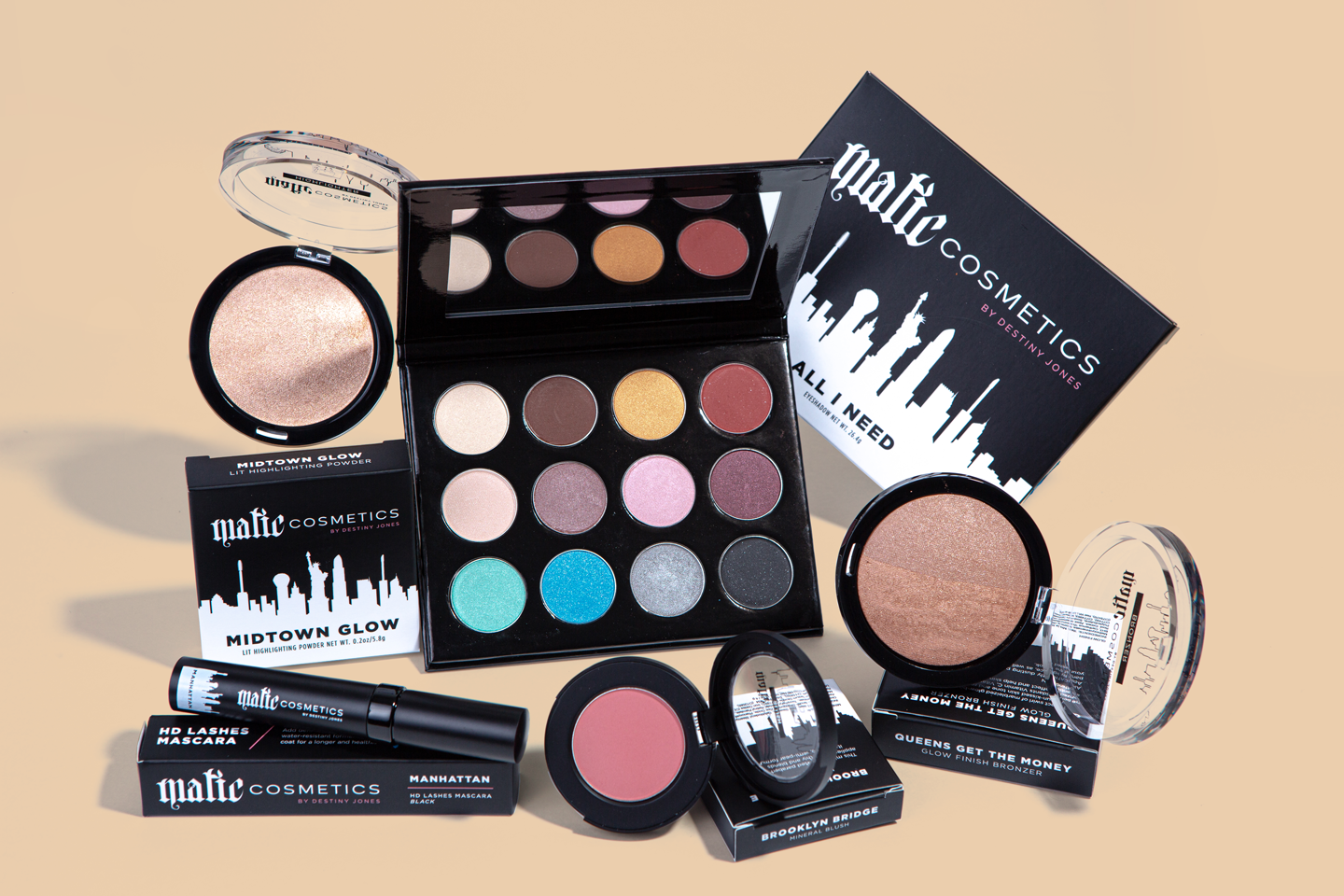 The All I Need Collection by Matic Cosmetics