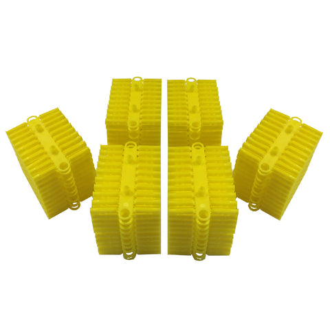 1000 x Heavy Duty Trade Pack of Yellow Wall Raw Plugs <br>