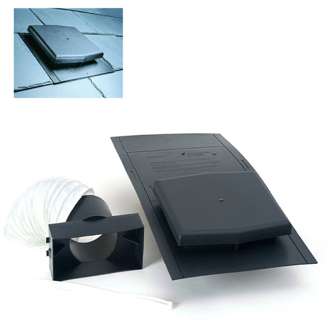 Slate Roof Tile Vent with Pipe Adapter Kits<br><br>