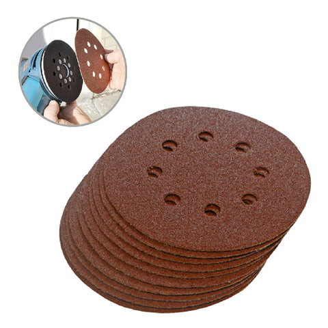 Hook and Loop 125mm Sanding Disc Sheets <br>Menu Options