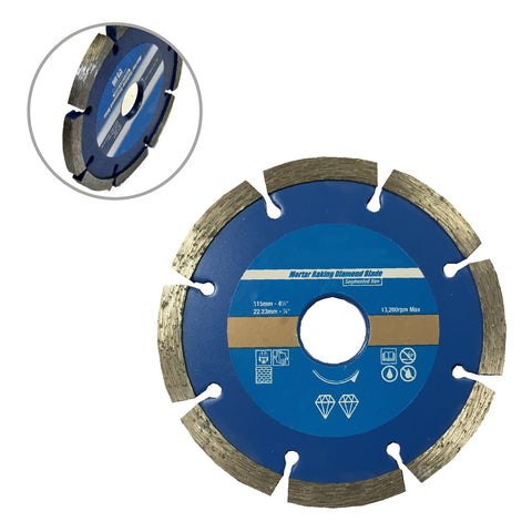 Brick Mortar Raking Diamond Blade 115mm Angle Grinder<br><br>