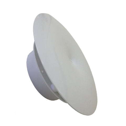 Round Mushroom Extractor Air Vent Low Profile for 4 Inch Ducting