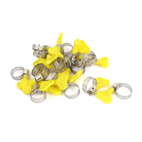 20 x Assorted Key Hose Clamps, Jubilee Type Worm Drive