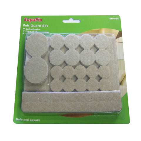 27 Pack Self Adhesive Felt Pads / Furniture Floor Protection